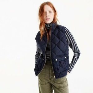 navy j.crew excursion vest for sale